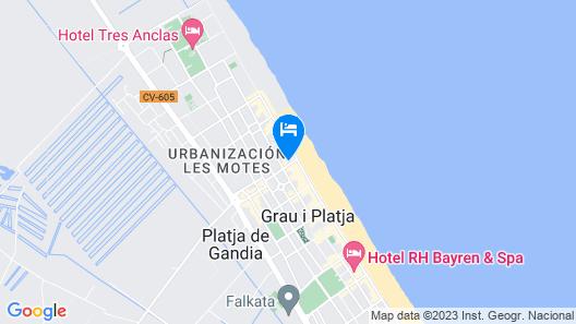 Primera Línea by Manila Apartments Map
