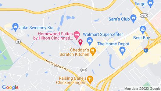 Tru By Hilton Cincinnati Airport South Florence Map