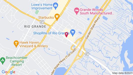 Flamingo Motel Map