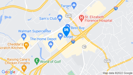 Hyatt Place Cincinnati Airport / Florence Map
