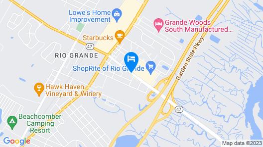 Simpson's Motel Map