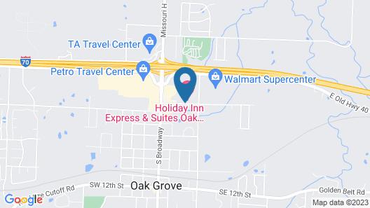 Holiday Inn Express Oak Grove, an IHG Hotel Map