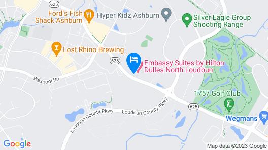 Embassy Suites Dulles - North/Loudoun Map