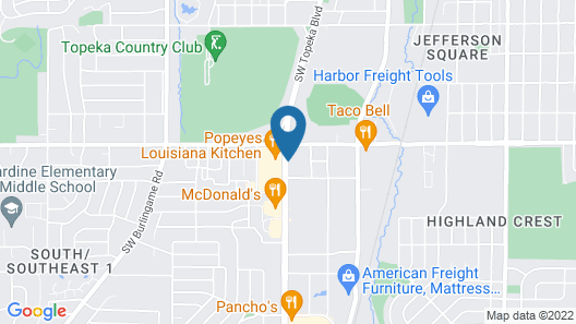 Meadow Acres Inn Map