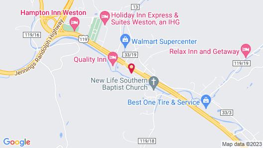 Hampton Inn Weston Map
