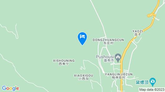 Wutai Mountain Waldorf Youth Hostel Map