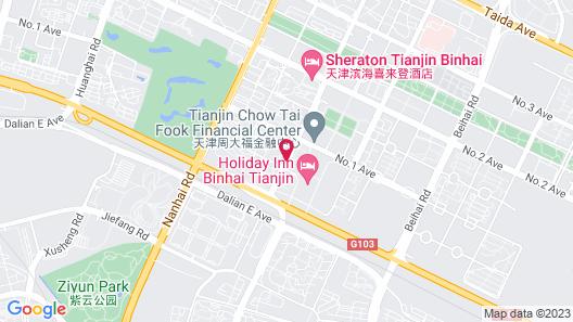 Ascott TEDA MSD Tianjin Map