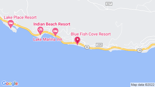 Blue Fish Cove Resort Map