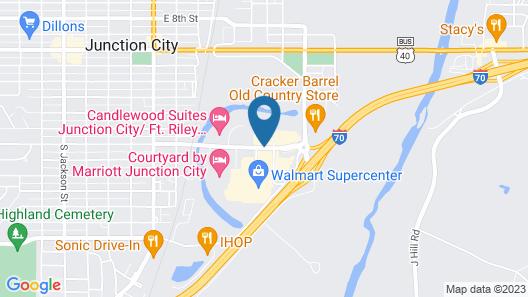 Best Western J. C. Inn Map