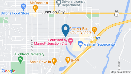 Candlewood Suites Junction City Fort Riley Map