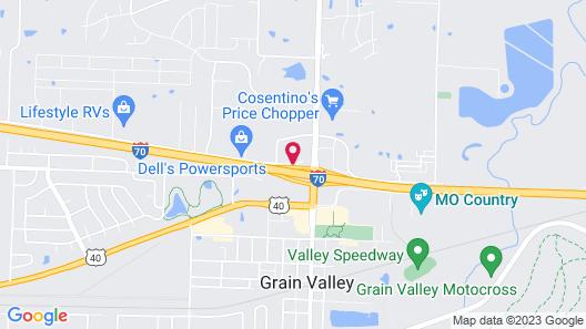 Comfort Inn Grain Valley - Kansas City Map