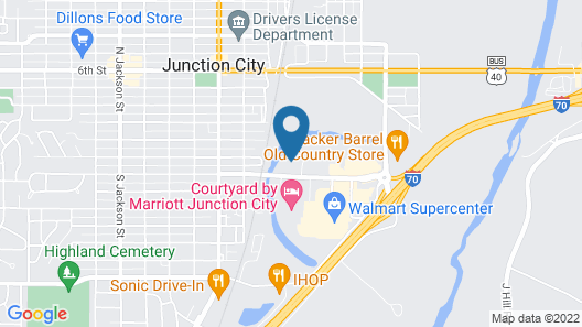 Candlewood Suites Junction City Fort Riley, an IHG Hotel Map