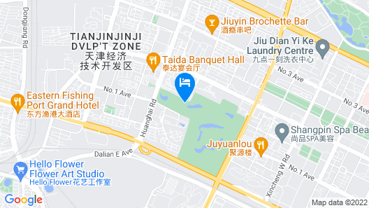 Teda, Tianjin-marriott Executive Apartments Map