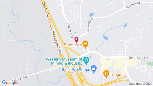My Place Hotel-Colorado Springs, CO Map
