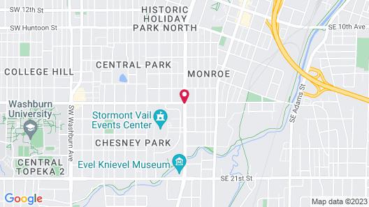 Capitol Plaza Topeka Map