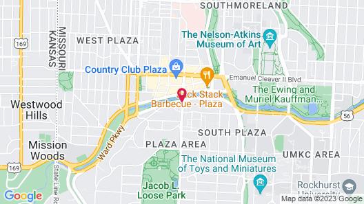 InterContinental Kansas City at The Plaza, an IHG Hotel Map