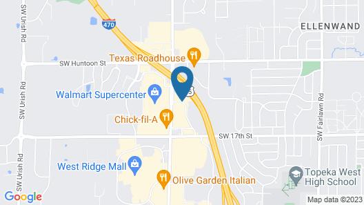Days Inn by Wyndham Topeka Map
