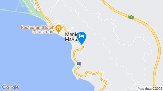 Delfini Hotel Map