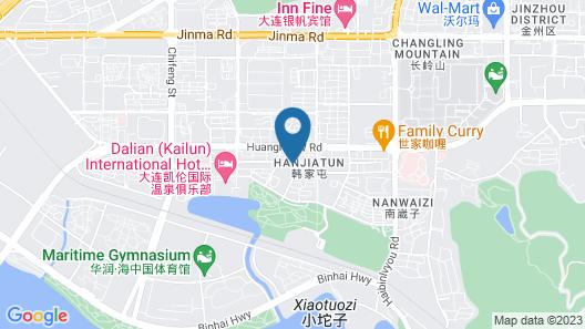 Dalian Dynasty International Hotel Map