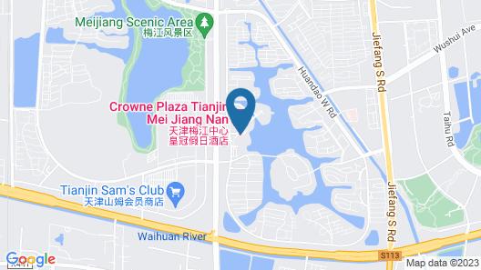 Crowne Plaza Tianjin Mei Jiang Nan Map