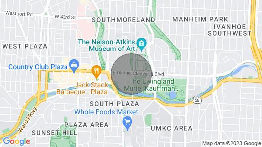 Spacious Plaza Condo 12 Map