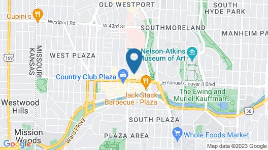 Steps to Shops, Eats, Museum Free Parking + W&D Zencity Map