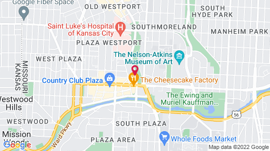 Courtyard by Marriott Kansas City Country Club Plaza Map