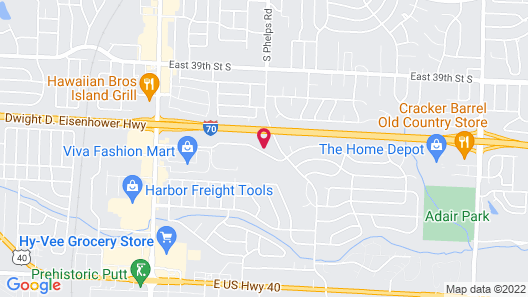 HomeTowne Studios by Red Roof Kansas City - Independence, MO Map
