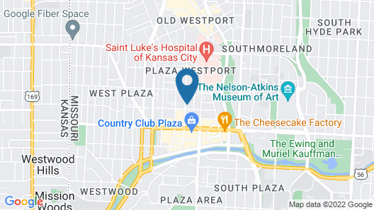 Penn - Trendy Plaza Apts with Free Parking by Zencity Map
