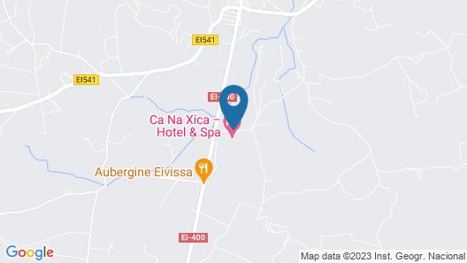 Ca Na Xica - Hotel & Spa Map
