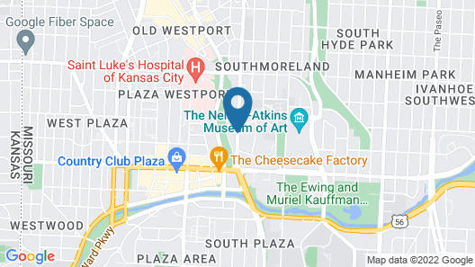Extended Stay America - Kansas City - Country Club Plaza Map