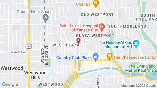 SpringHill Suites by Marriott Kansas City Plaza Map