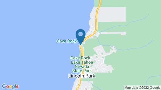 Cave Rock Chalet by Lake Tahoe Accommodations Map