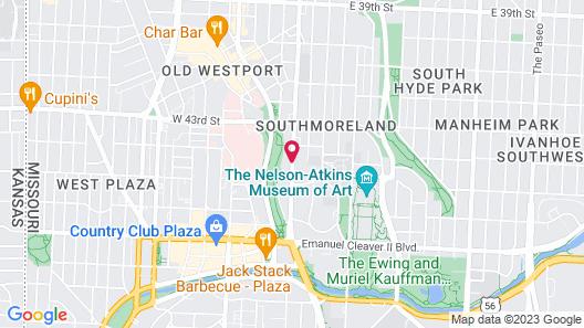 Kansas City Marriott Country Club Plaza Map