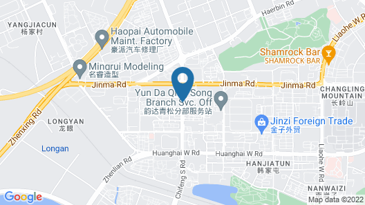 Somerset Grand Central Dalian Map