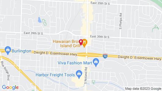 Super 8 by Wyndham Independence Kansas City Map