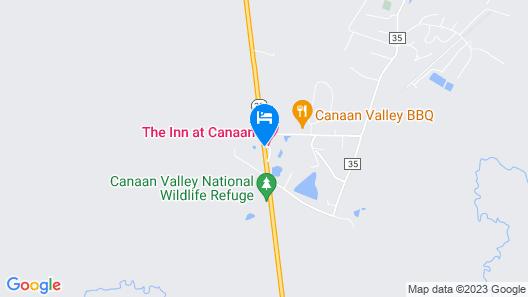 Canaan Village Inn Map