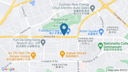 Dalian East Hotel Map