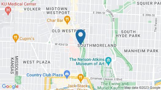 Embassy Suites Kansas City - Plaza Map