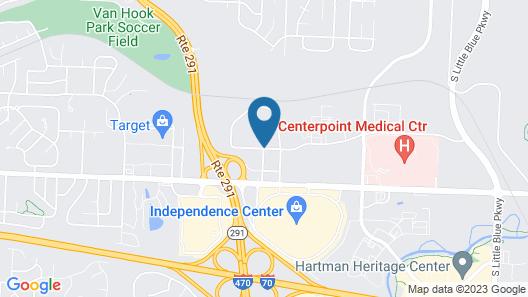 Best Western Independence Kansas City Map
