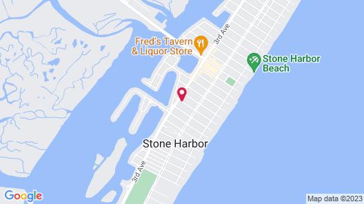 Sun 'N' Sand Motel Map
