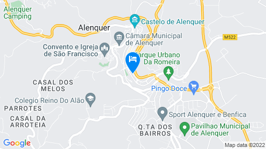 Alenquer - Wine Route Map