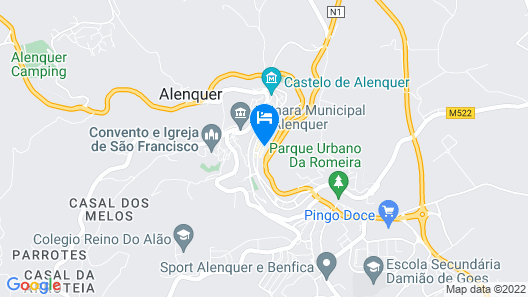 Casa Velha Map