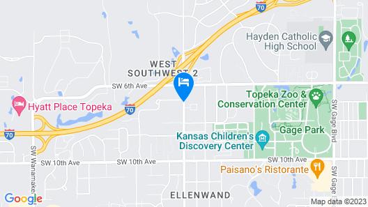 Best Western Topeka Inn & Suites Map
