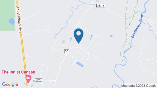Windwood Fly-In Resort Map