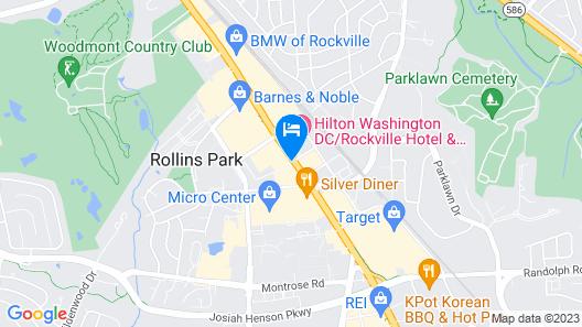 EVEN Hotel Rockville - Washington DC Area, an IHG Hotel Map