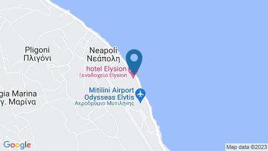 Elysion Hotel Map