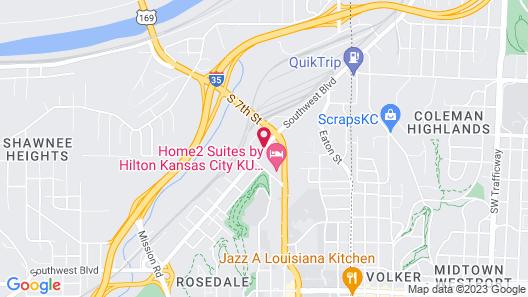 Baymont by Wyndham Kansas City KU Medical Center Map