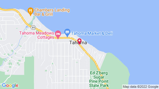 Tahoma Lodge Map