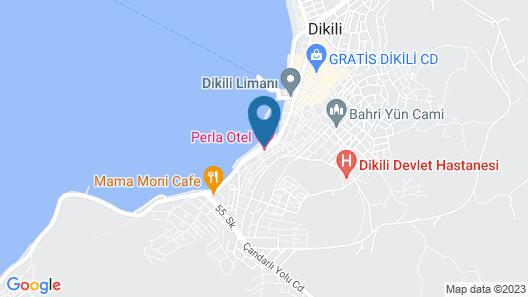 Perla Otel Map